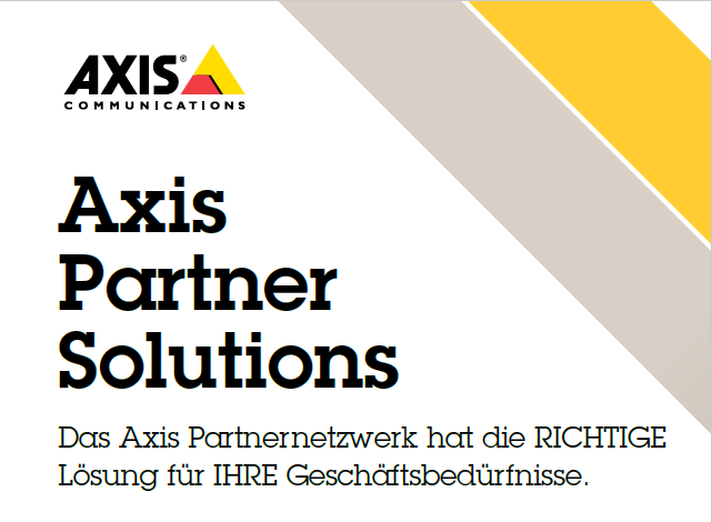 AXIS Partner Solutions Alarmserver